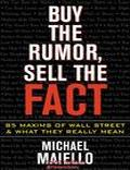 Mcgraw Hill Buy The Rumor Sell - Trading Books