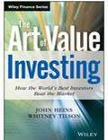 the art of value investing john heins - Trading Books