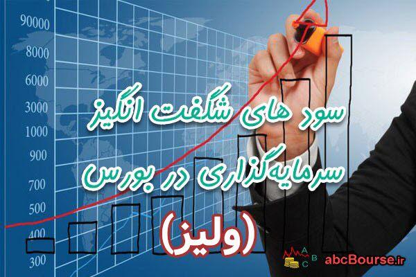بازدهی 223 درصدی سهام شرکت لیزینگ ایران (ولیز) در 5 ماه!