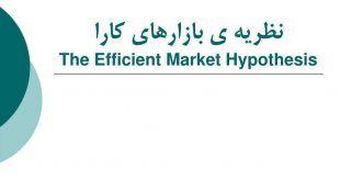 کارایی بازار سرمایه